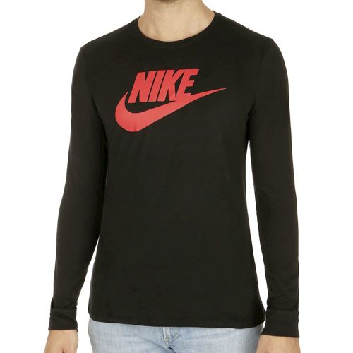 Nike Sportswear Long Sleeve Men - Black, Red