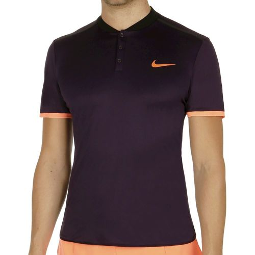 Nike Advantage Premier Polo Men - Violet, Black