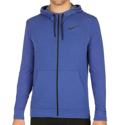 Nike Dri-FIT Fleece Jacket Men - Blue, Black