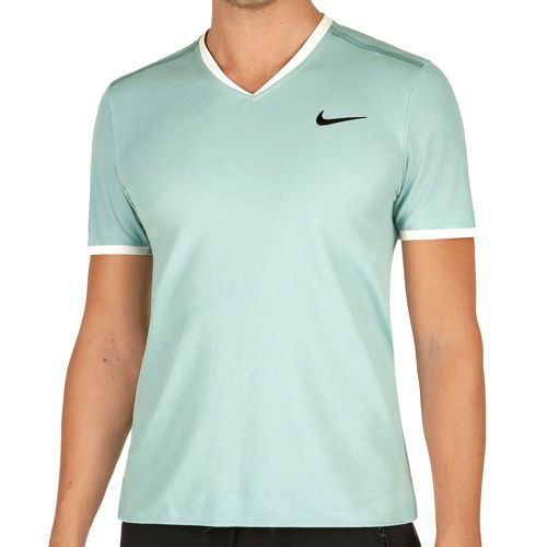 Nike Roger Federer Court Dry T-Shirt Men - Petrol, Green
