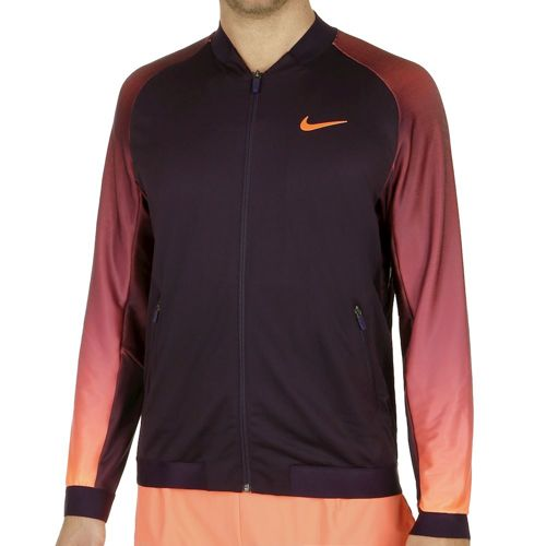 Nike Court Training Jacket Men - Violet, Orange