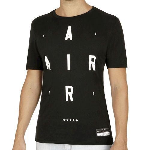 Nike Air Brand Mark 2 T-Shirt Men - Black, White