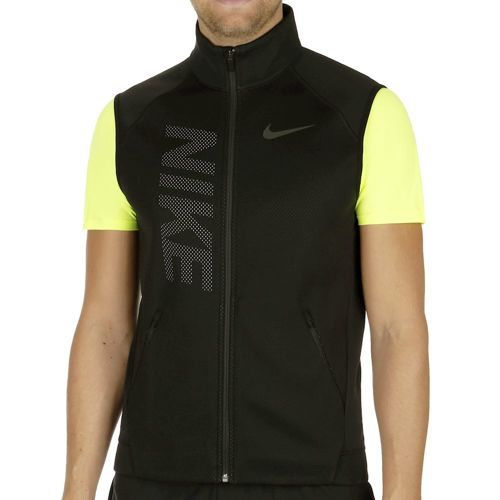 Nike Therme Sphere Training Vest Men - Black, Neon Yellow
