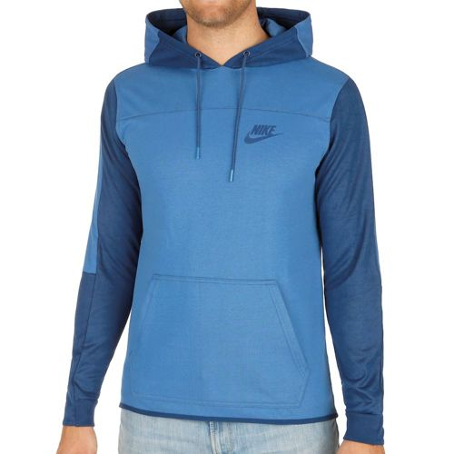 Nike Advance 15 Hoody Men - Blue, Dark Blue