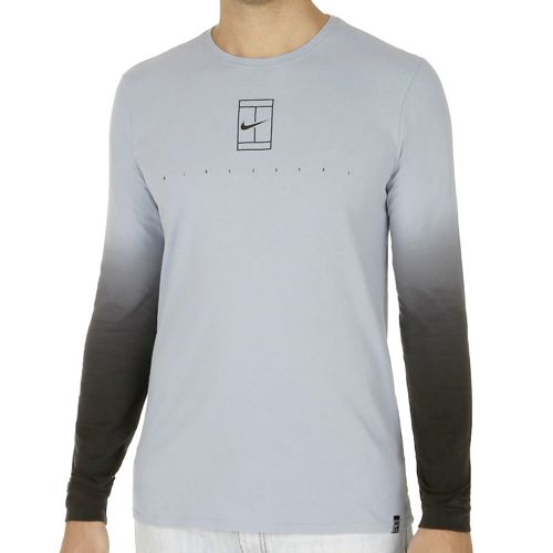 Nike Court EOS Long Sleeve Men - Blue, Black