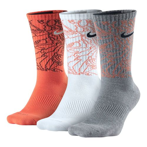 Nike Dri-Fit Topo Camo Training Tennis Socks 3 Pack Men - Multicoloured