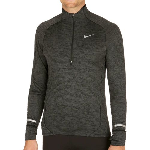Nike Element Sphere Half-Zip Long Sleeve Men - Black, Anthracite