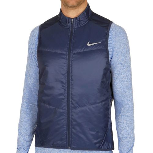 Nike Polyfill Vest Men - Dark Blue, Silver