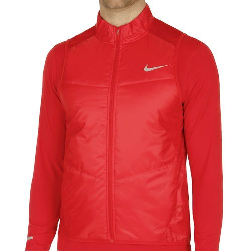 Nike Polyfill Vest Men - Red, Silver