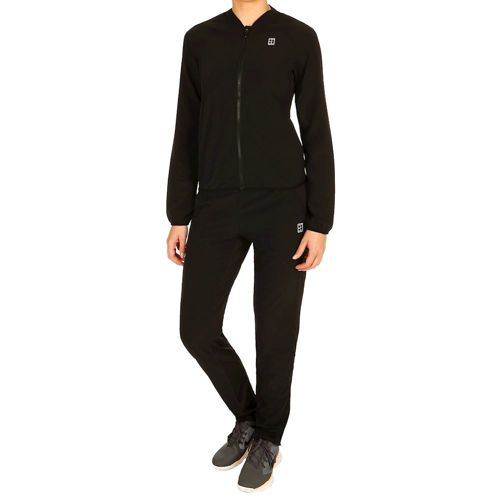 Nike Court Woven Warm Up Tracksuit Women - Black, White