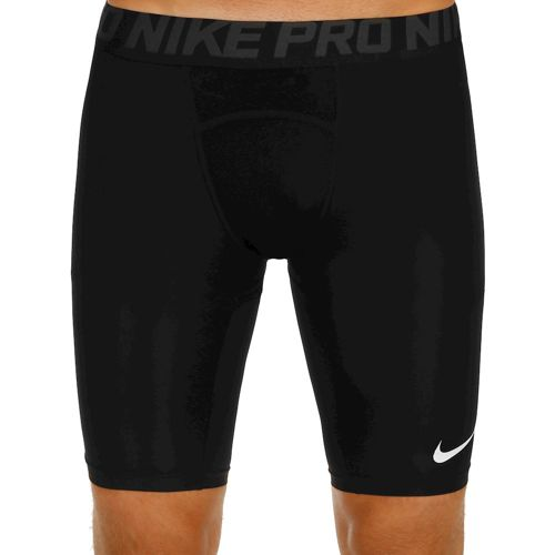 Nike Pro Long Shorts Men - Black, Dark Grey