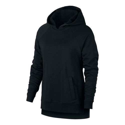Nike Dry Training Hoody Women - Black, White