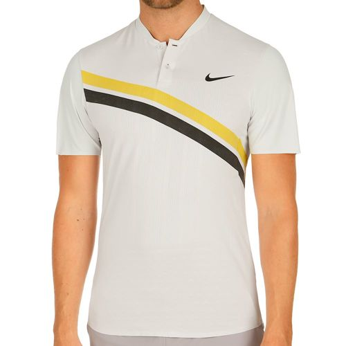 Nike Court Zonal Cooling Advantage Roger Federer Polo Men - Lightgrey, Black