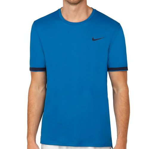 Nike Court Dry T-Shirt Men - Blue, Dark Blue