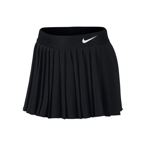 Nike Court Victory Skirt Girls - Black, White