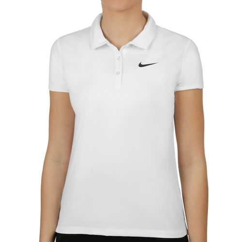 Nike Court Pure Polo Women - White, Black