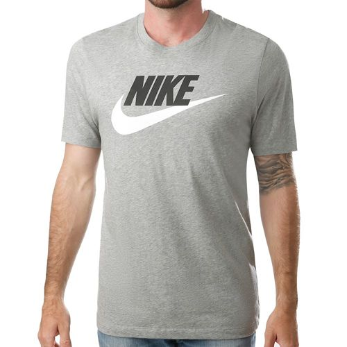 Nike Sportswear T-Shirt Men - Dark Grey, White