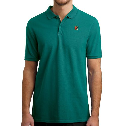 Nike Court Polo Men - Green, Red