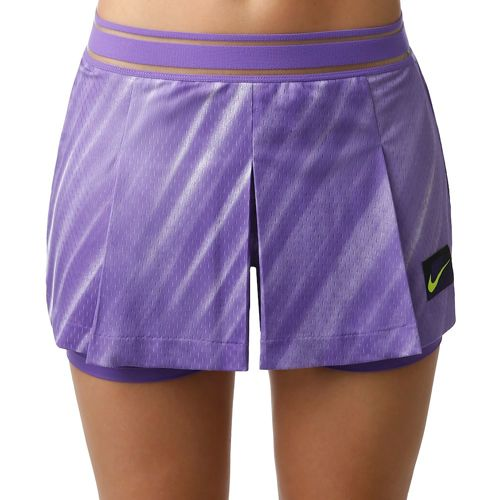 Nike Court Slam Shorts Women - Violet, White