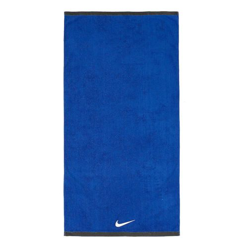 Nike Fundamental Towel Large - Blue, White