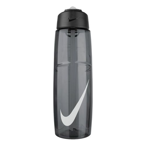 Nike T1 Flow Swoosh Water Bottle 946ml - Anthracite, White
