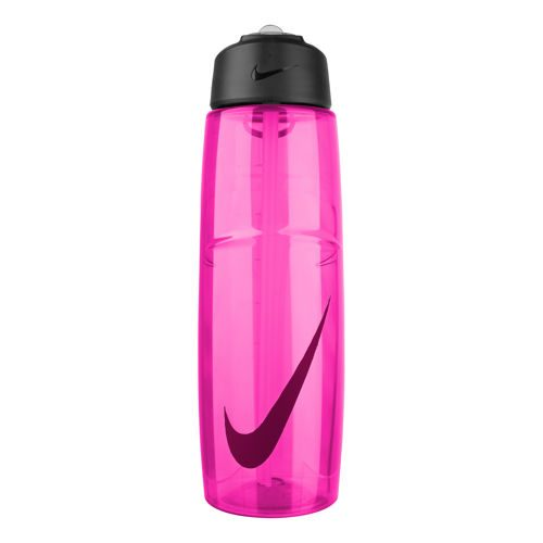 Nike T1 Flow Swoosh 32 Oz (946 Ml) Water Bottle - Pink, Red