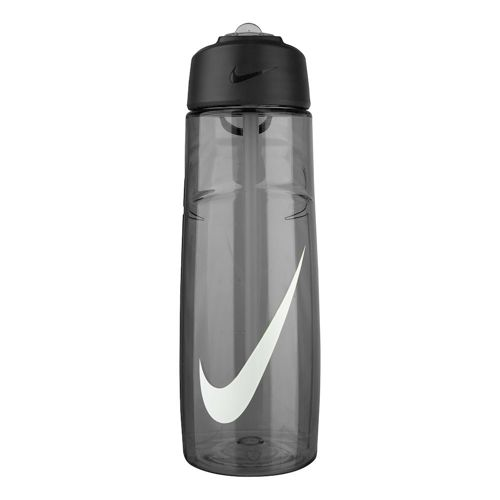 Nike T1 Flow Swoosh Water Bottle 709ml - Anthracite, White