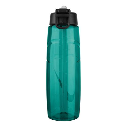 Nike T1 Flow Swoosh 32 Oz (946 Ml) Water Bottle - Green, Light Green