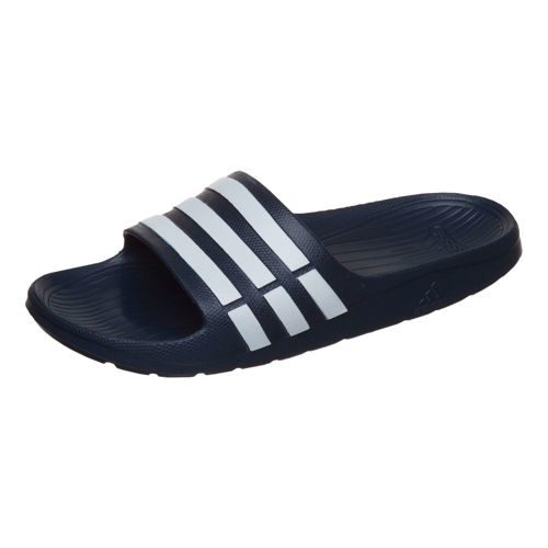 adidas Essentials Duramo Slide Badeschlappen Sneakers Men - Dark Blue