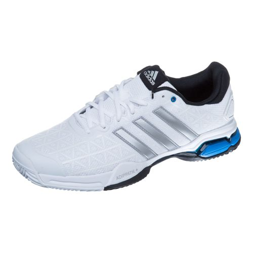adidas Barricade Club All Court Shoe Men - White, Silver
