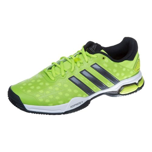adidas Barricade Club All Court Shoe Men - Lime, Dark Grey