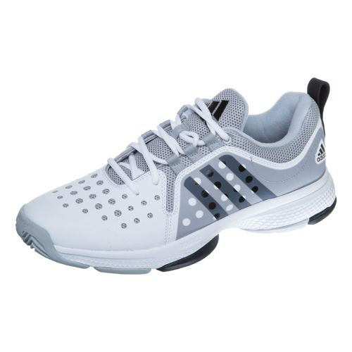 adidas Barricade Classic Bounce All Court Shoe Men - White, Grey