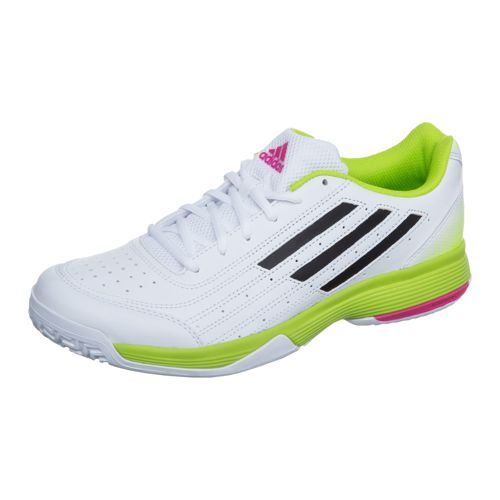 adidas Sonic Attack All Court Shoe Men - White, Lime