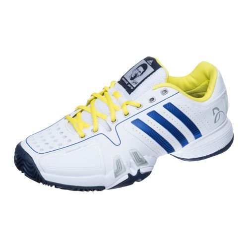 adidas Novak Djokovic Pro All Court Shoe Men - White, Dark Blue