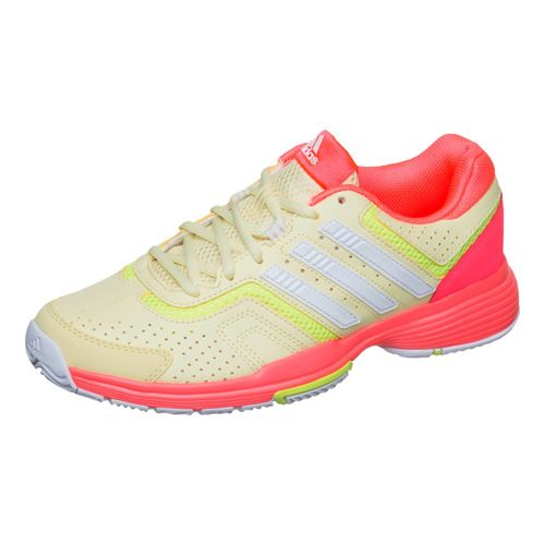 adidas Barricade Court 2 All Court Shoe Women - Yellow, White