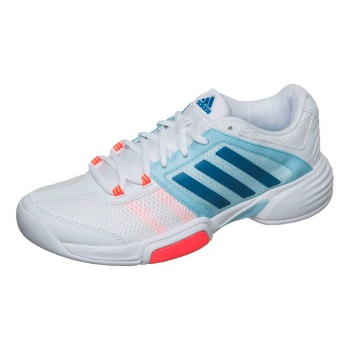 adidas Barricade Club CPT Carpet Shoe Women - White, Blue