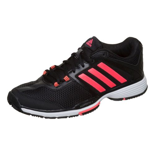 adidas Barricade Club All Court Shoe Women - Black, Red