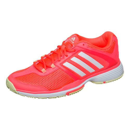 adidas Barricade Club All Court Shoe Women - Red, White