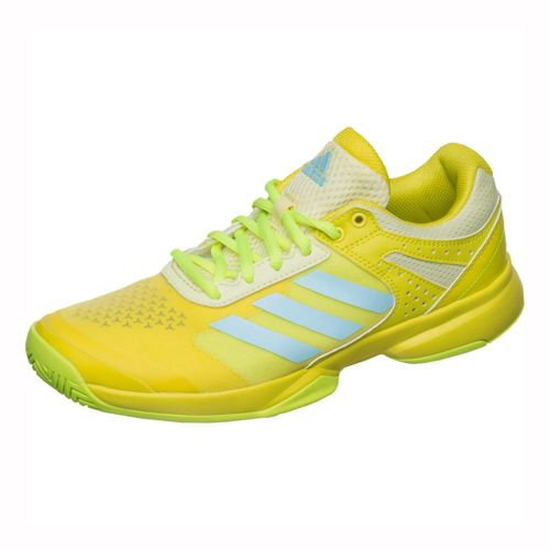 adidas Adizero Court All Court Shoe Women - Yellow, Light Blue