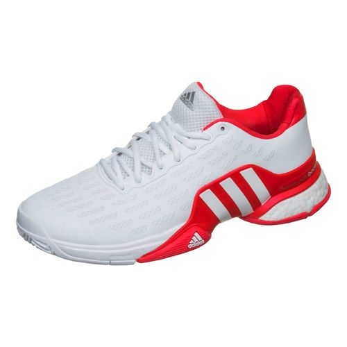 adidas Barricade Boost All Court Shoe Men - White, Red