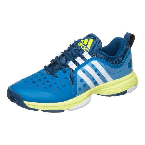 adidas Barricade Classic Bounce All Court Shoe Men - Dark Blue, White