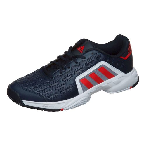 adidas Barricade Court 2 All Court Shoe Men - Dark Blue, Red