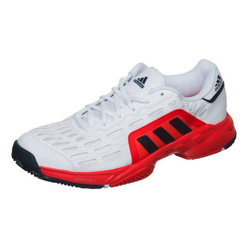 adidas Barricade Court 2 All Court Shoe Men - White, Dark Blue
