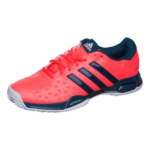 adidas Barricade Club Clay Clay Court Shoe Men - Red, Dark Blue