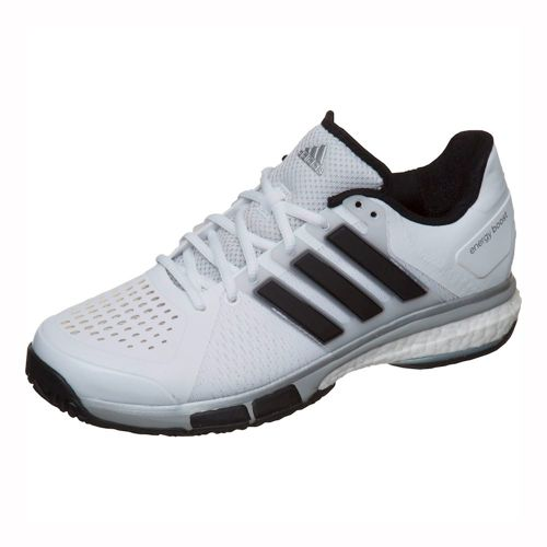 adidas Energy Boost Tennis All Court Shoe Men - White, Black