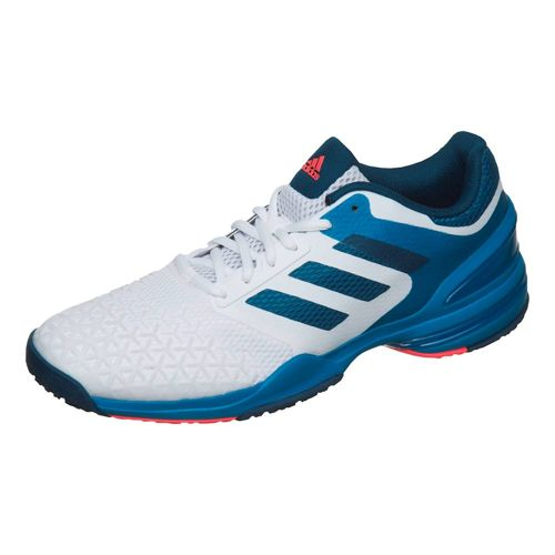 adidas Adizero Club OC All Court Shoe Men - White, Dark Blue