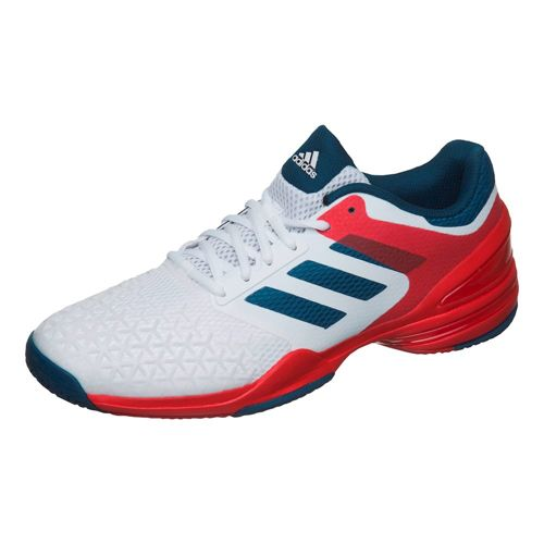 adidas Adizero Club All Court Shoe Men - White, Dark Blue