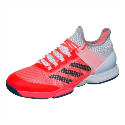 adidas Adizero Ubersonic 2 All Court Shoe Men - Red, Dark Blue