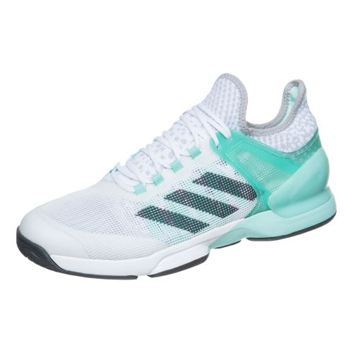 adidas Adizero Ubersonic 2 All Court Shoe Men - Green, Grey