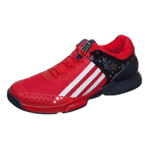 adidas Adizero Ubersonic G DUB All Court Shoe Men - Red, Dark Blue